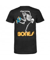 Powell Peralta Skate Skeleton T-Shirt - Black - T-Shirt