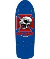 Powell Peralta Bones Brigade Reissue - Tony Hawk - Blue - 10in x 30in - Skateboard Deck