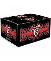 Diablo Formula 13 Paintballs Case 100 Rounds - Green/Red - Green Fill