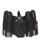 Empire 4+1 Paintball Harness w/ Velcro/Elastic - Black