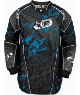 Planet Eclipse EVX Distortion Paintball Jersey - Ice