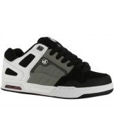 DVS Throttle - White/Grey Nubuck - Skateboard Shoes