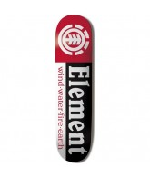 Element Section Black - 7.5 - Skateboard Deck