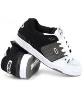 Globe Fusion - White/Charcoal/Black - Skateboard Shoes