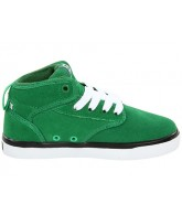 Globe Motley Mid-Kids - Green - Skateboard Shoes