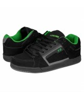 Globe Liberty - Black/Charcoal/Moto Green - Mens Skate Shoes