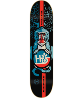 Habitat KG Kerry Getz Arboreal Bamboo - Black/Blue/Red - 7.75 - Skateboard Deck
