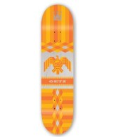Habitat Raptor Series - Orange - 8 - Skateboard Deck