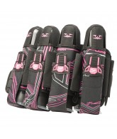 2012 Valken Crusade Paintball Harness 4+7 - Tron Pink