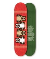 Habitat FG Fred Gall Insignia Series - Red - 8.25 - Skateboard Deck