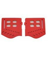 JT Replacement Soft Ears Left & Right - Red