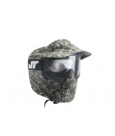 JT Alpha Thermal Paintball Goggles - Limited Edition Olive Skull