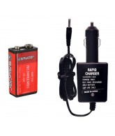 Kingman Spyder Rechargeable 9.6V Battery & Wall Charger Combo Pack
