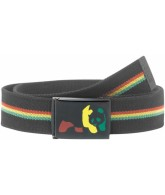 Enjoi Rasta Web Belt - Black - Belt