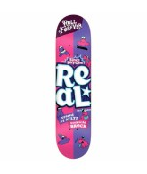 Real Brock/Aultz Double Dip - 8.12x31.25 - Purple/Pink - Skateboard Deck