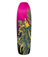 Anti-Hero Jeff Grosso Eagle Doll XL Squared Edge - 9.25 - Pink - Skateboard Deck