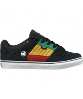 DVS Ignition CT  - Black/Rasta Suede - Skateboard Shoes