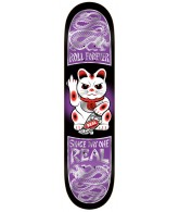 Real Good Luck Forever Lg - Purple - 8.38 - Skateboard Deck