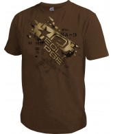 Planet Eclipse Men's 2011 Recruit T-Shirt - Brown