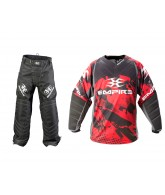 Empire 2012 Prevail TW Paintball Jersey & Pant Combo - Red