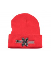 HK Army Icon Beanie - Red/Black Stitch