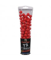 Rufus Dawg T2 T-Balls 100ct Reusable Target Balls - Red