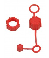 Rufus Dawg Thread Kap Kit - Red