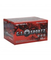 GI Sportz 3 Star Paintball Case 2000 Rounds - Yellow Fill