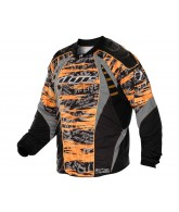 2012 Dye C12 Paintball Jersey - Tiger Orange