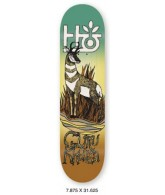 Habitat Terrene GK - Yellow - 7.875 - Skateboard Deck