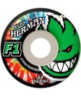 Spitfire Wheels F1 Streetburner Herman Kush CDE - 54mm - Skateboard Wheels