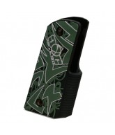 Gen X Global Tribal Wrap 45 Grip - Black/Green/White