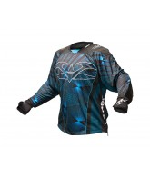 2013 Valken Redemption Paintball Jersey - Blue Slash