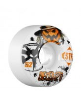 Bones Street Tech Formula Decenzo Scarecrow - 52mm - White - Skateboard Wheels