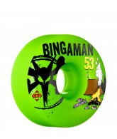 Bones STF Pro Bingaman Camp - 53mm - Green - Skateboard Wheels