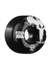 Bones O.G. Formula 100 - 52mm - Black - Skateboard Wheels