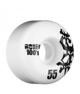 Bones O.G. Formula Natural - 55mm - White - Skateboard Wheels