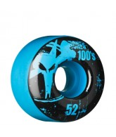 Bones O.G. Formula 100 - 52mm - Blue - Skateboard Wheels