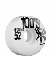 Bones O.G. 100's - 52mm - White - Skateboard Wheels