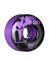 Bones O.G. Formula 100 - 53mm - Purple - Skateboard Wheels