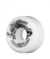 Powell Peralta Oval Dragon - 56mm - White - Skateboard Wheels