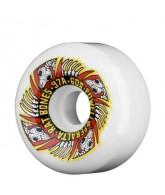 Powell Peralta Rat Bones II - 60mm - White - Skateboard Wheels