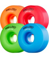 Mini Logo C-Cut Wheel - 53mm - Assorted Colors - Skateboard Wheels