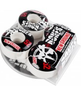 Bones STF New Ground w/ Free DVD - 52mm - White - Skateboard Wheels