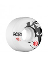 Bones Street Tech Formula Thin - 49mm - White - Skateboard Wheels