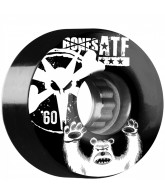 Bones ATF Po Bear - 60mm - Black - Skateboard Wheels