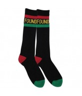 Foundation Stripes - Black / Rasta - Socks